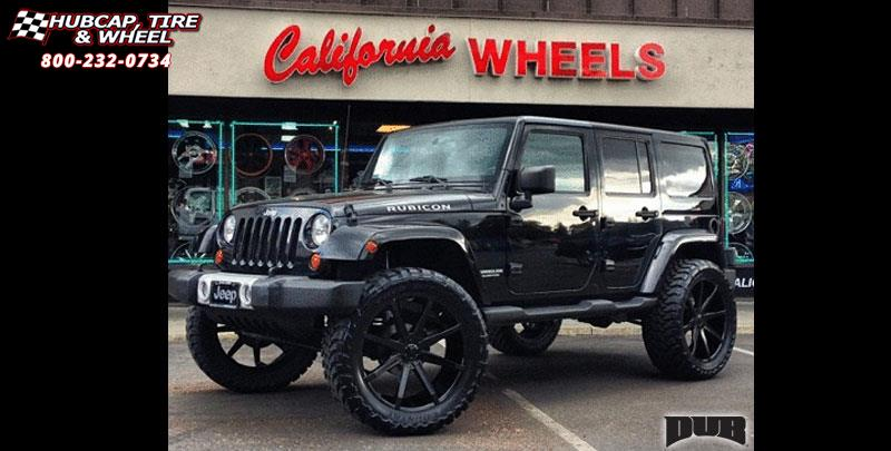 Jeep Wrangler Dub Push - S110 Wheels Gloss Black
