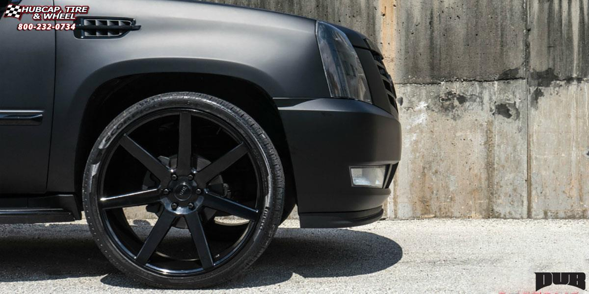 Cadillac Escalade Dub Future - S127 Wheels Gloss Black