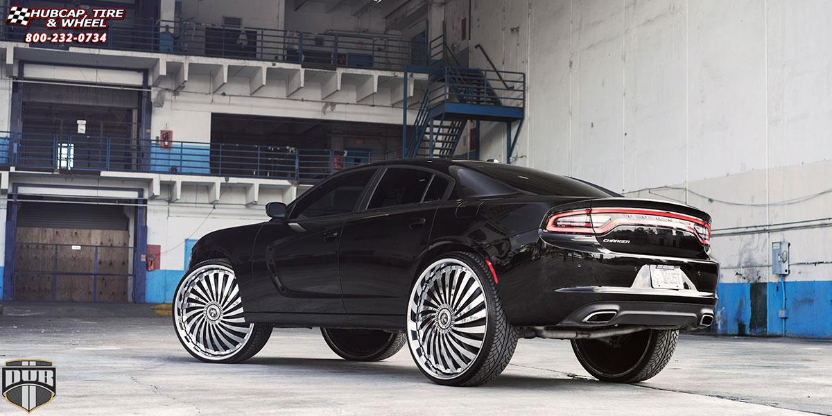 Charger On 30 Inch Rims : Dodge charger dub s swyrl wheels chrome
