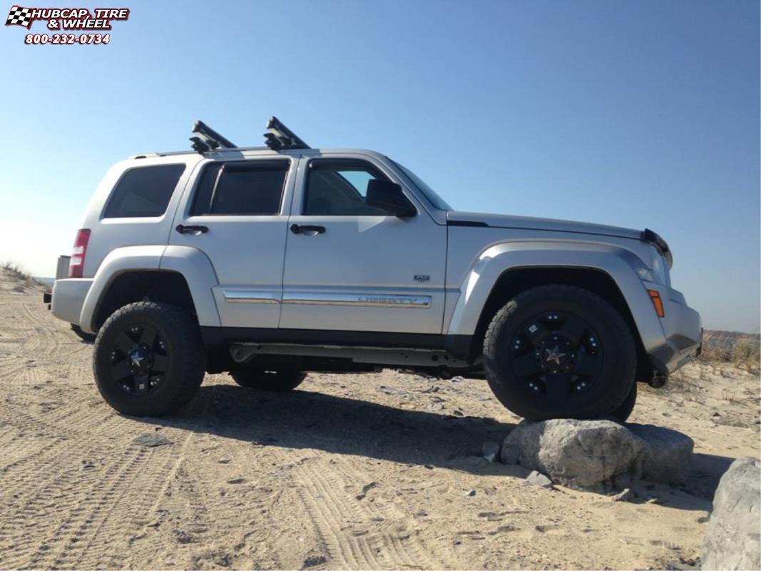 2014 Jeep Patriot Tire Size >> Jeep Liberty XD Series XD775 Rockstar Wheels Matte Black
