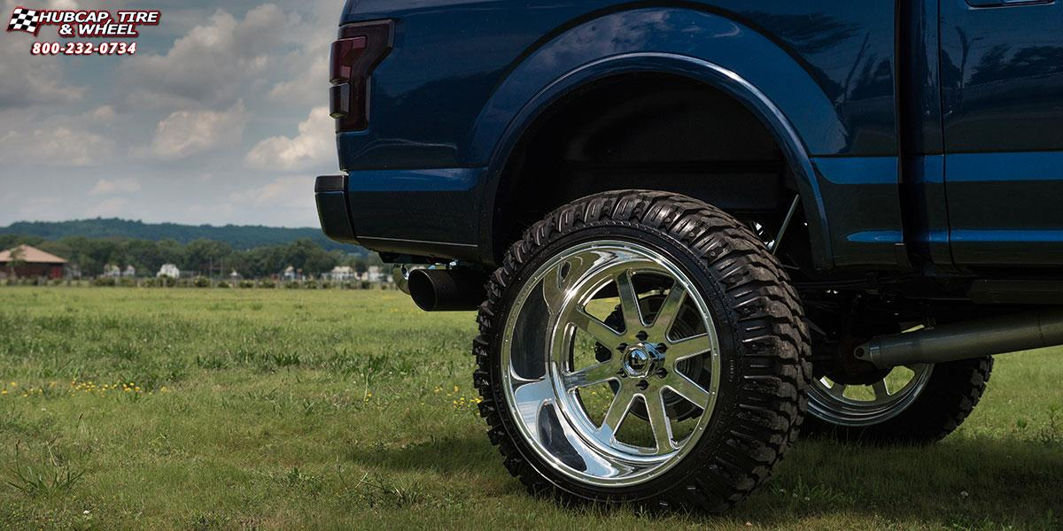 1997 Ford F150 Rims >> Ford F-150 Fuel Forged FF09 Wheels Polished or Custom Painted