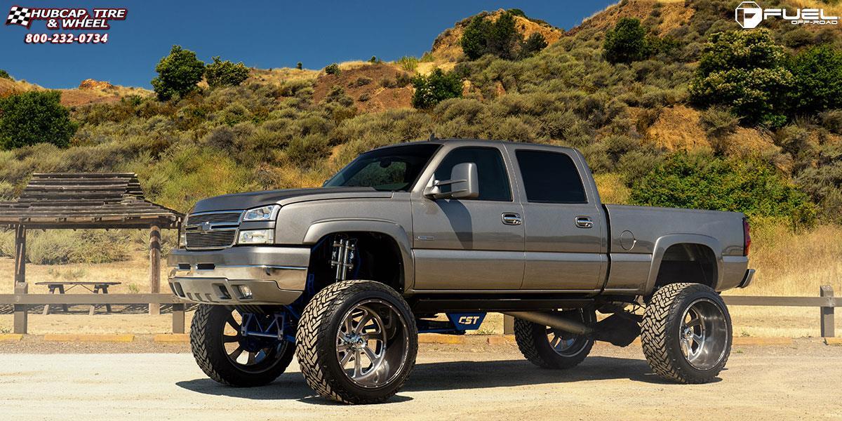Chevrolet Silverado 2500 HD Fuel Forged FF12 Wheels ...