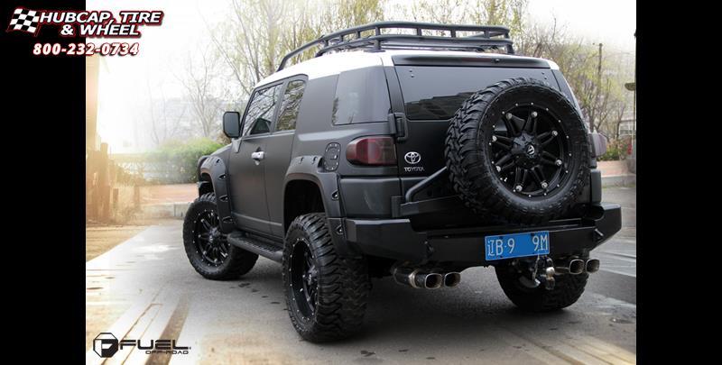 Fuel Wheels 20x9 >> Toyota FJ Cruiser Fuel Hostage D531 Wheels Matte Black