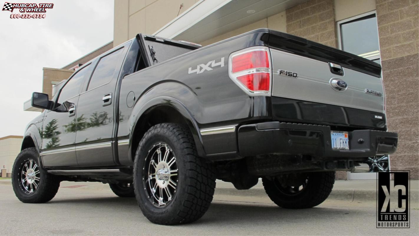 Ford F150 Bed Size >> Ford F-150 XD Series XD795 Hoss Wheels Gloss Black Machined