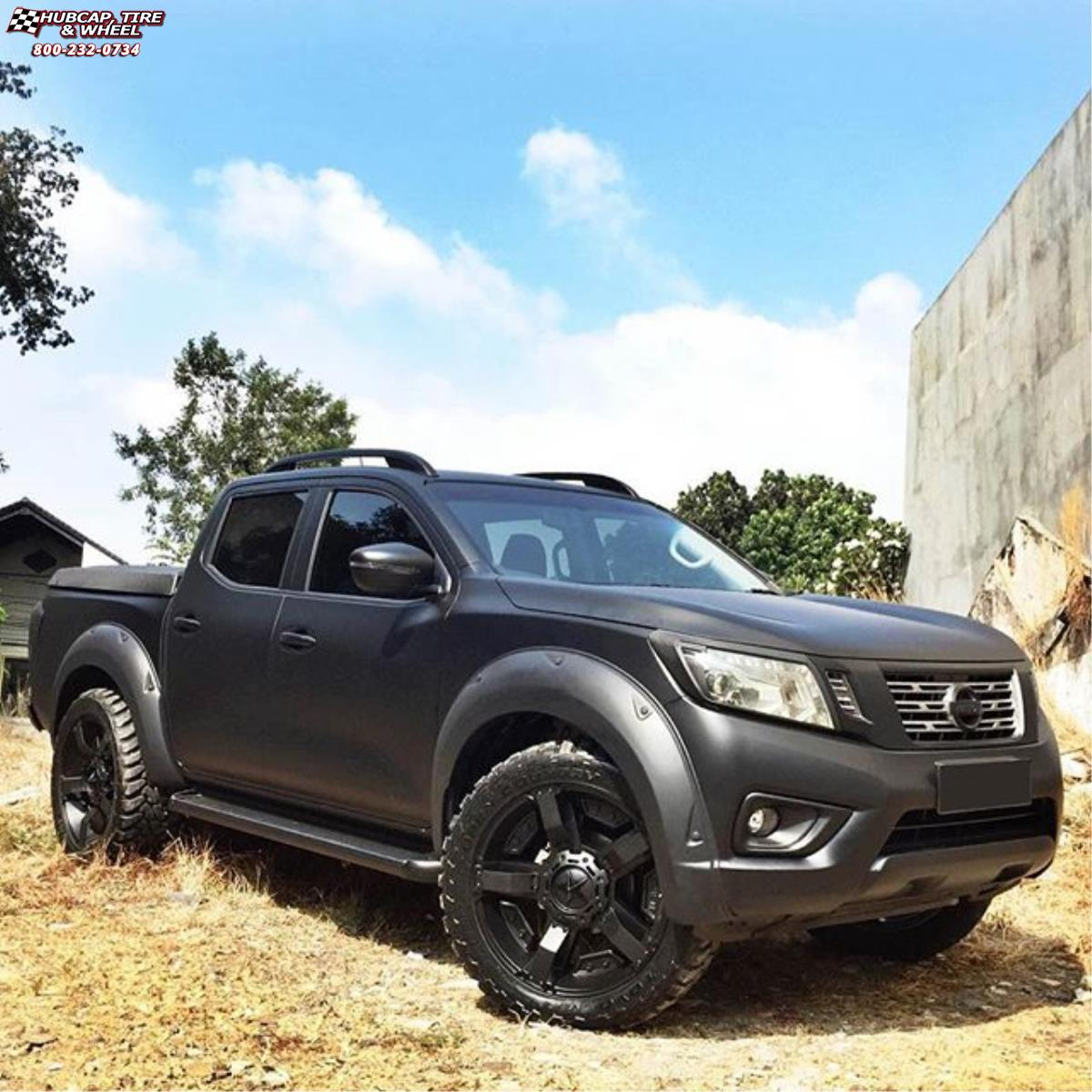 Nissan Frontier Xd Series Xd811 Rockstar 2 Wheels Satin