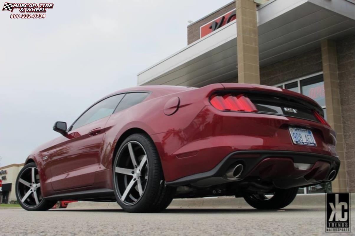 vehicle gallery/ford mustang xd series km685 district   wheels and rims