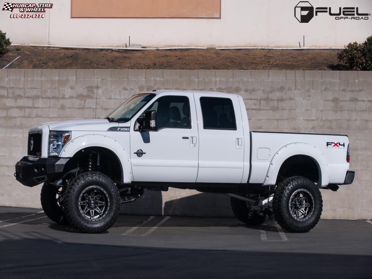 Ford f 350 fuel hostage ii d232 20x12 anthracite center matt black anthracite outer