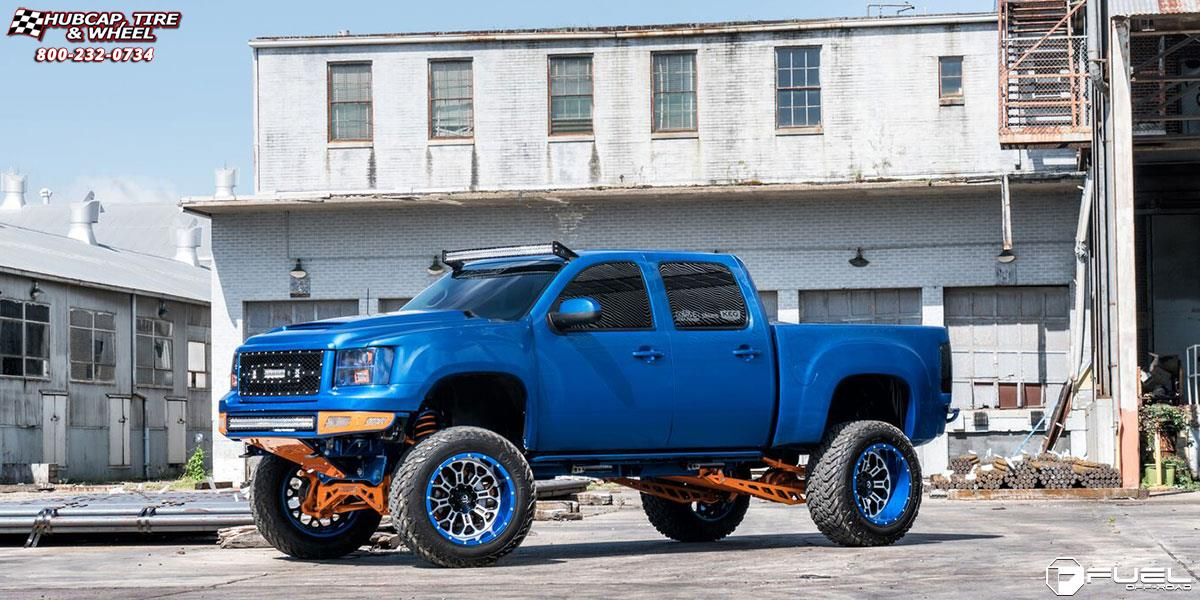 GMC Sierra 1500 Fuel Crush D268 Wheels Custom