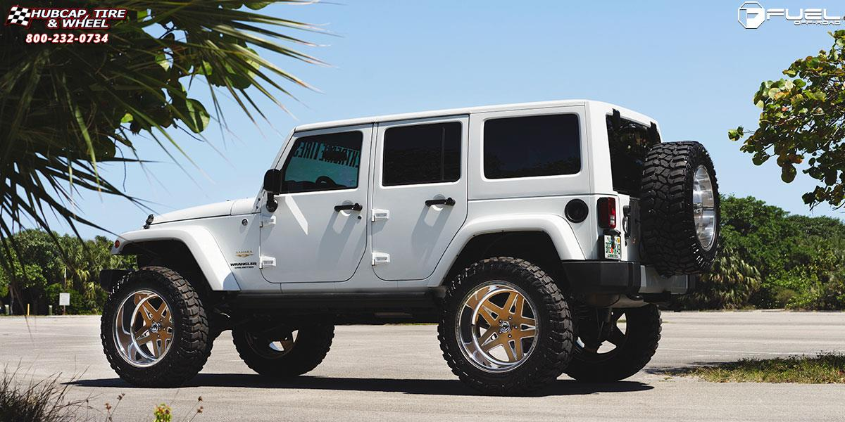 Wrangler Rock 47 >> Jeep Wrangler Fuel Forged FF21 Wheels Gold | Polish