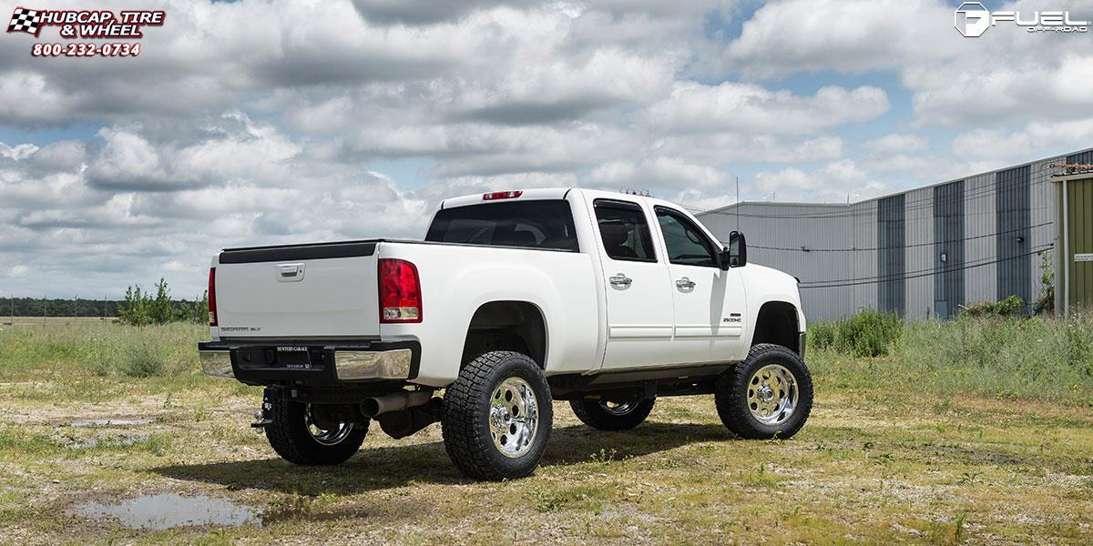 gmc sierra 2500 hd fuel forged ff31 wheels hi luster polished