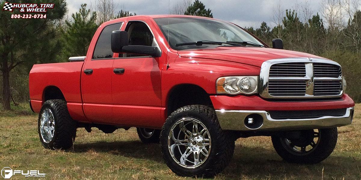 Dodge Ram 1500 Wheels And Tires Packages >> Dodge Ram 1500 Fuel Hostage D530 Wheels Chrome