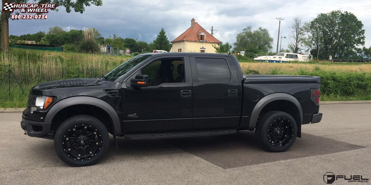 Ford Raptor Fuel Hostage D531 Wheels Matte Black