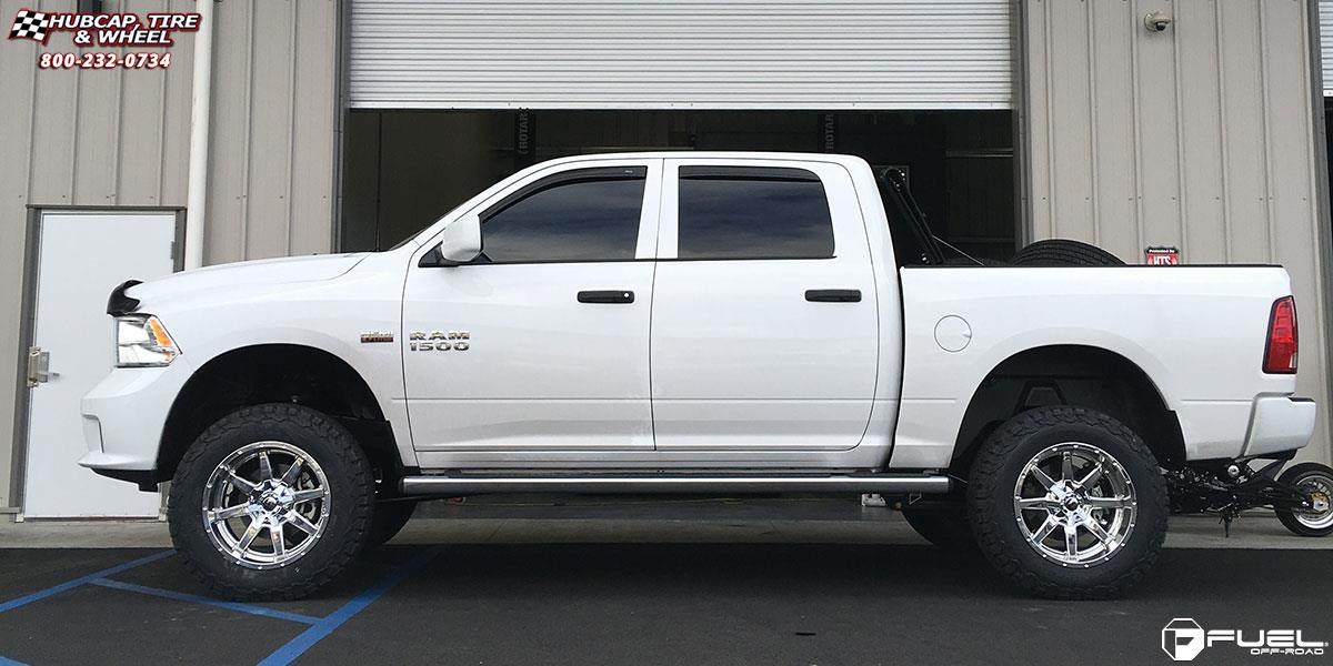 Dodge Ram 1500 Fuel Maverick D536 Wheels Chrome