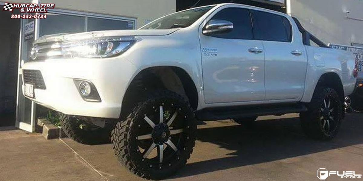 Toyota Hilux Fuel Maverick D537 Wheels Matte Black