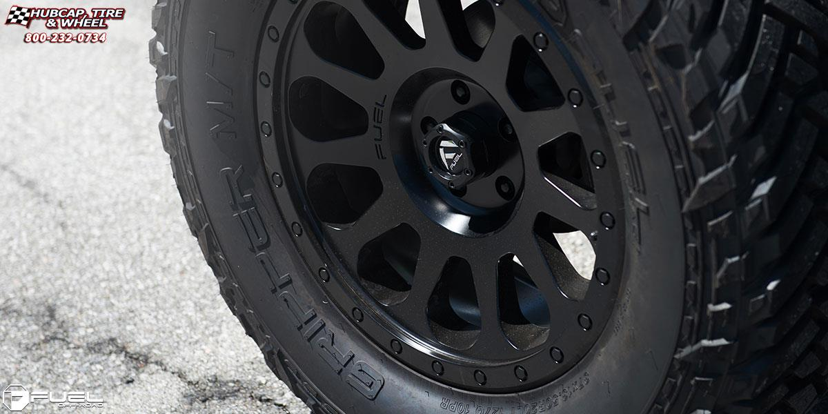 vehicle gallery/jeep wrangler fuel vector d579 20X9  Matte Black wheels and rims