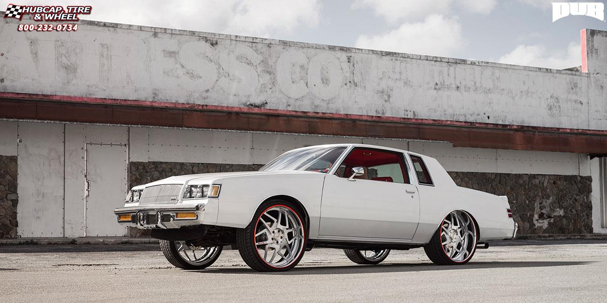 Buick Regal Dub X80 - Game On Wheels Brushed Face ...