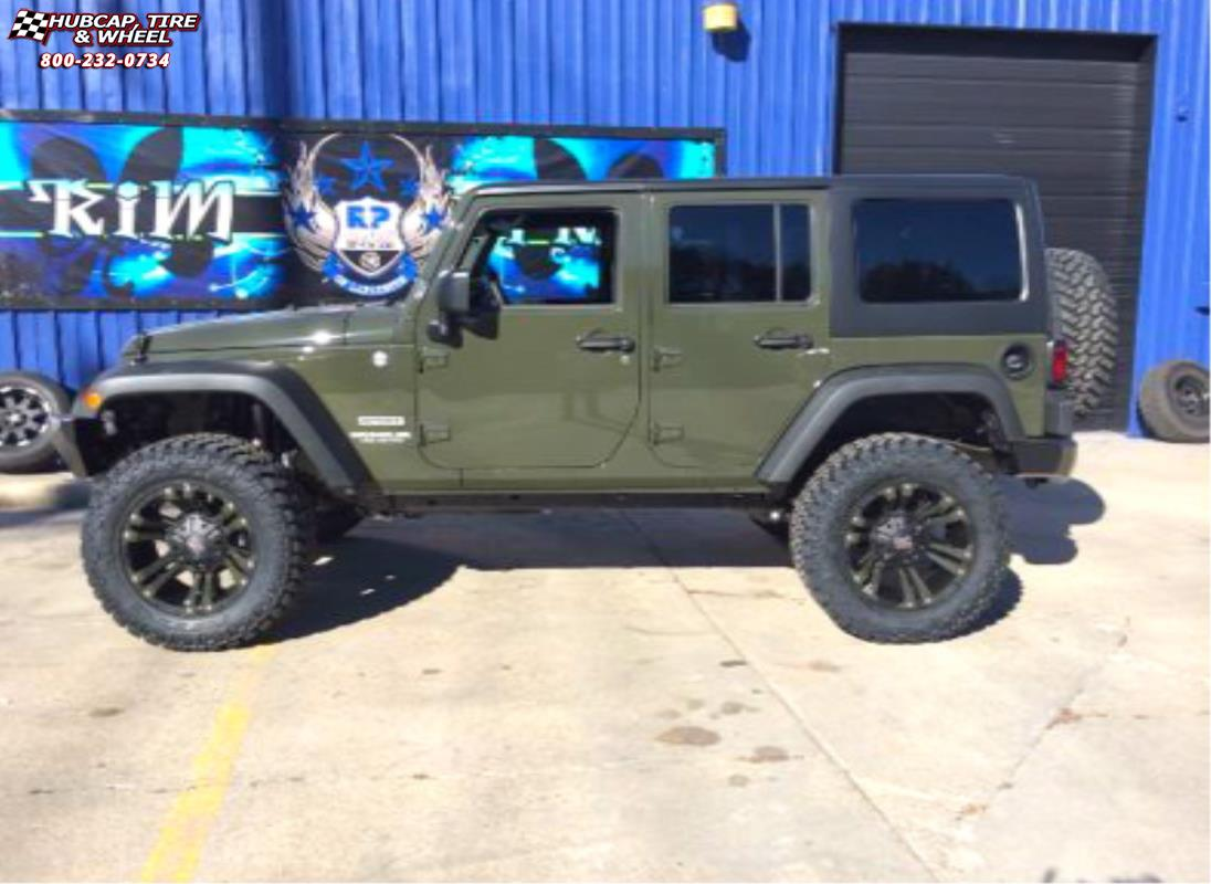 jeep wrangler xd series xd822 monster ii   wheels and rims