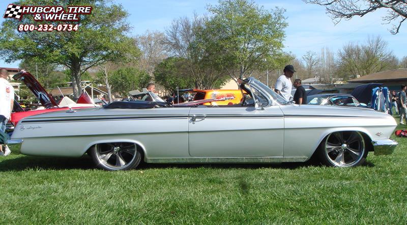 1962 Chevrolet Impala Foose Nitrous Se F300 Wheels Chrome