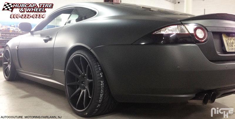 Jaguar XKR Niche Spa Wheels Brushed Face | Gloss Black