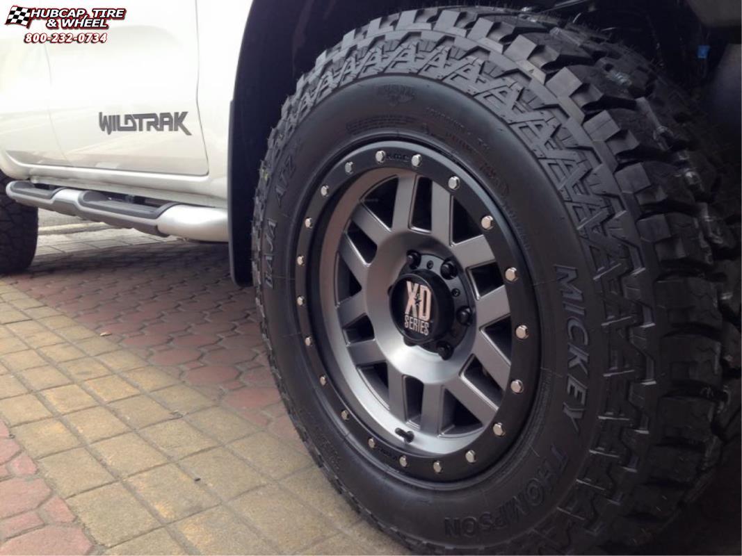 Ford Ranger Wildtrak Xd Series Xd128 Machete Wheels Matte