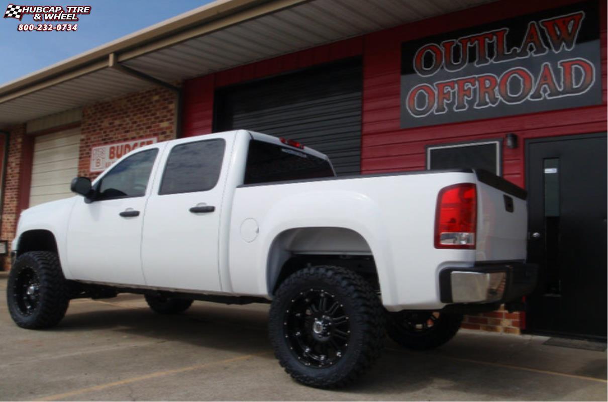 2017 Silverado Accessories >> Chevrolet Silverado 1500 XD Series XD795 Hoss Wheels Gloss Black