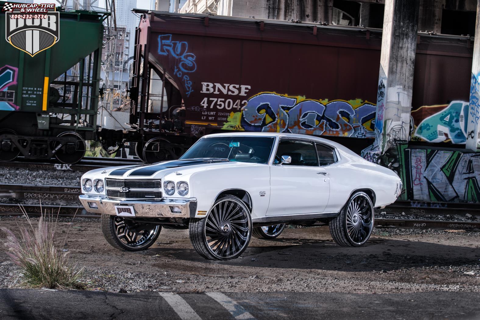 Chevrolet Chevelle Dub Dazed - S241 Wheels Black ...