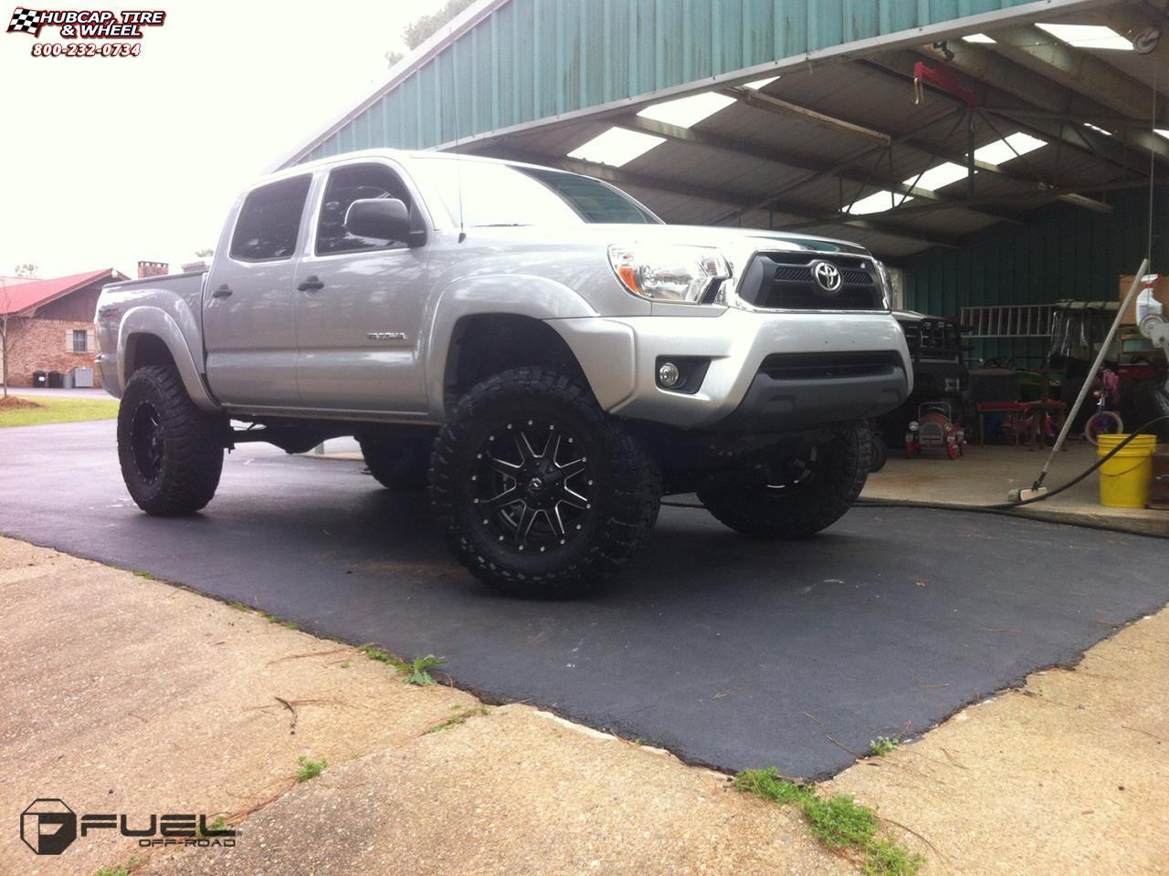 Toyota Tacoma Fuel Maverick D536 Wheels Chrome