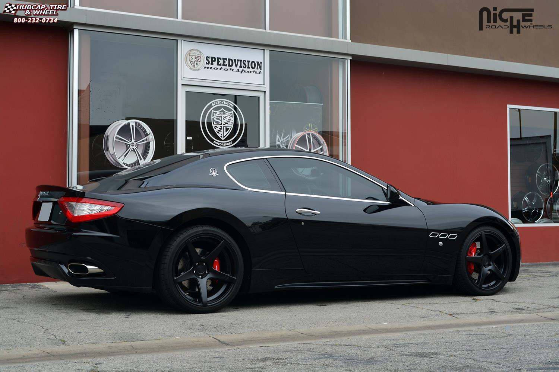 22 Inch Rim And Tire Package >> Maserati Quattroporte Niche GT-5 - M133 Wheels Satin Black