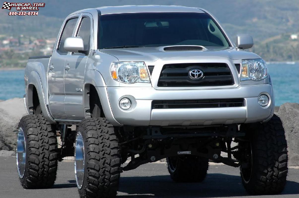 2005 toyota tacoma xd series xd766 diesel wheels chrome. Black Bedroom Furniture Sets. Home Design Ideas