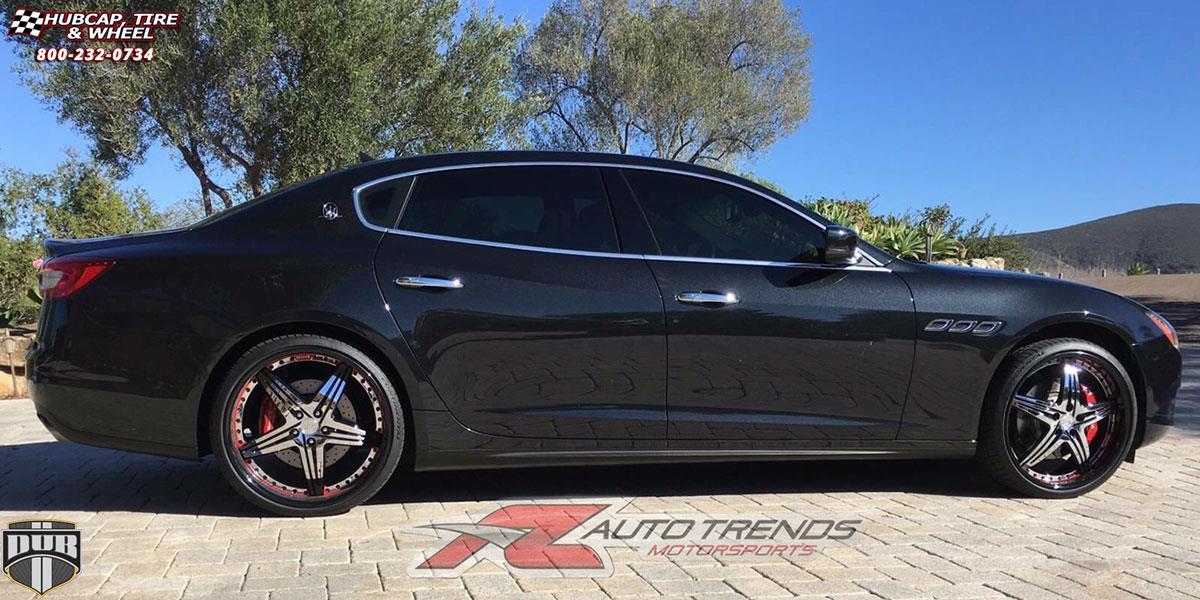 Maserati Quattroporte Dub XA50 - Tango Wheels