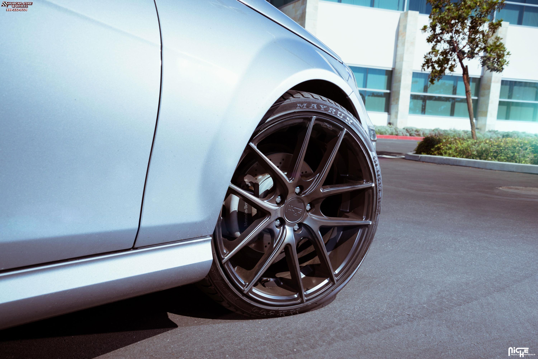 Mercedes benz c class niche targa m130 wheels black for Mercedes benz wheel and tire protection