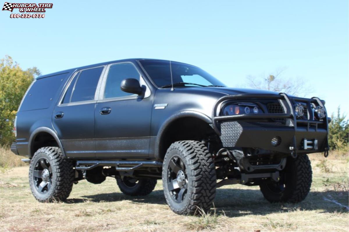 Ford Expedition Xd Series Xd775 Rockstar Wheels Matte Black