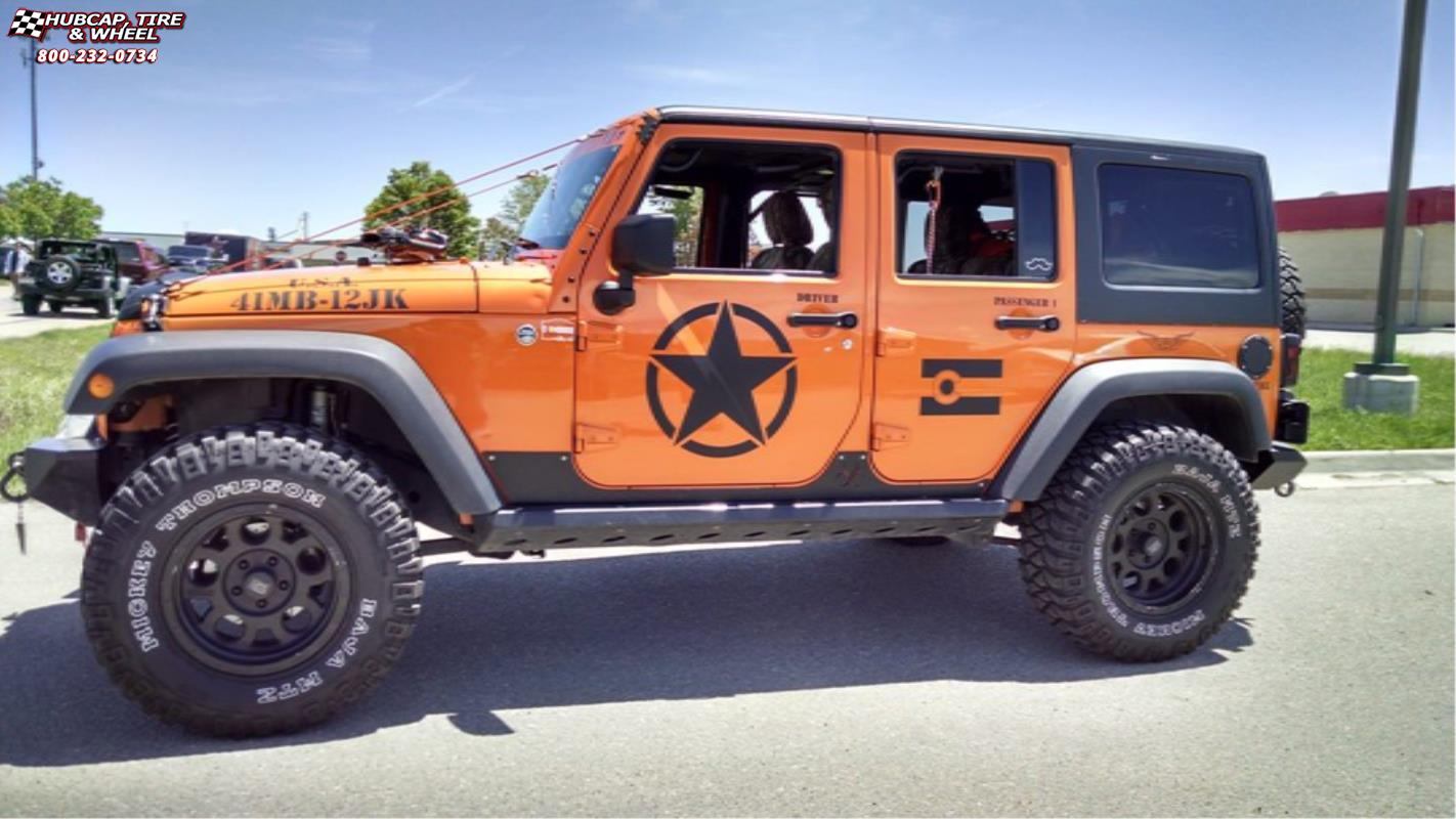 Jeep Wrangler Black Matte >> Jeep Wrangler XD Series XD122 Enduro Wheels Matte Black