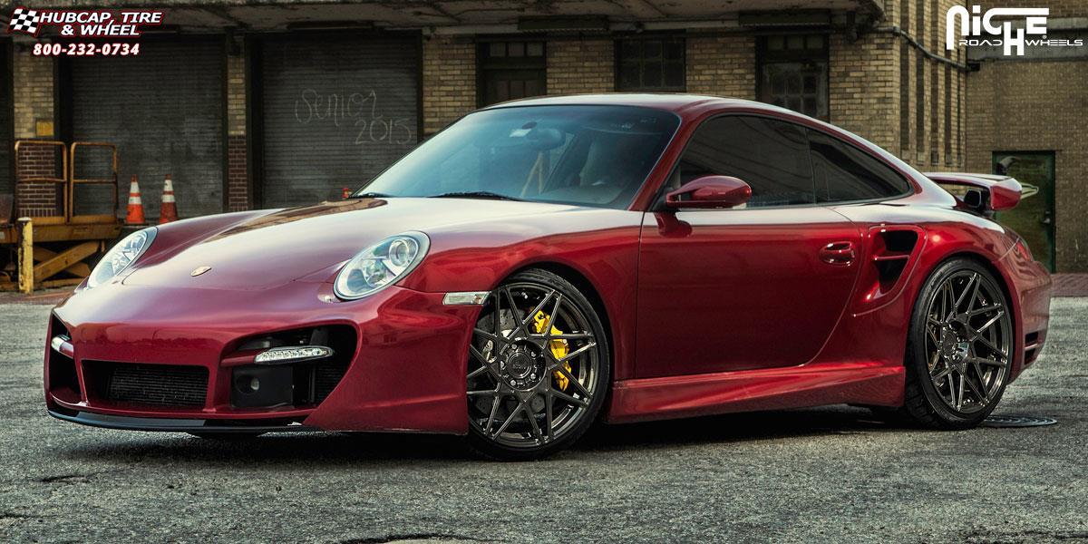 Porsche 911 Niche Alpine Wheels Hi Luster Polished W
