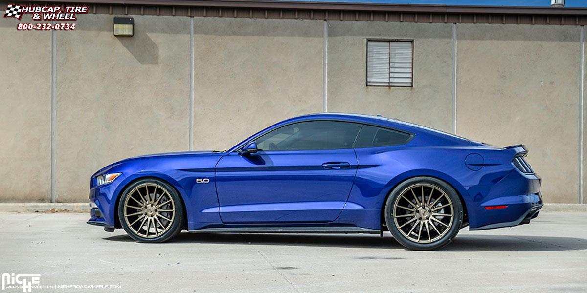 Ford Mustang Niche Form - M158 Wheels Bronze