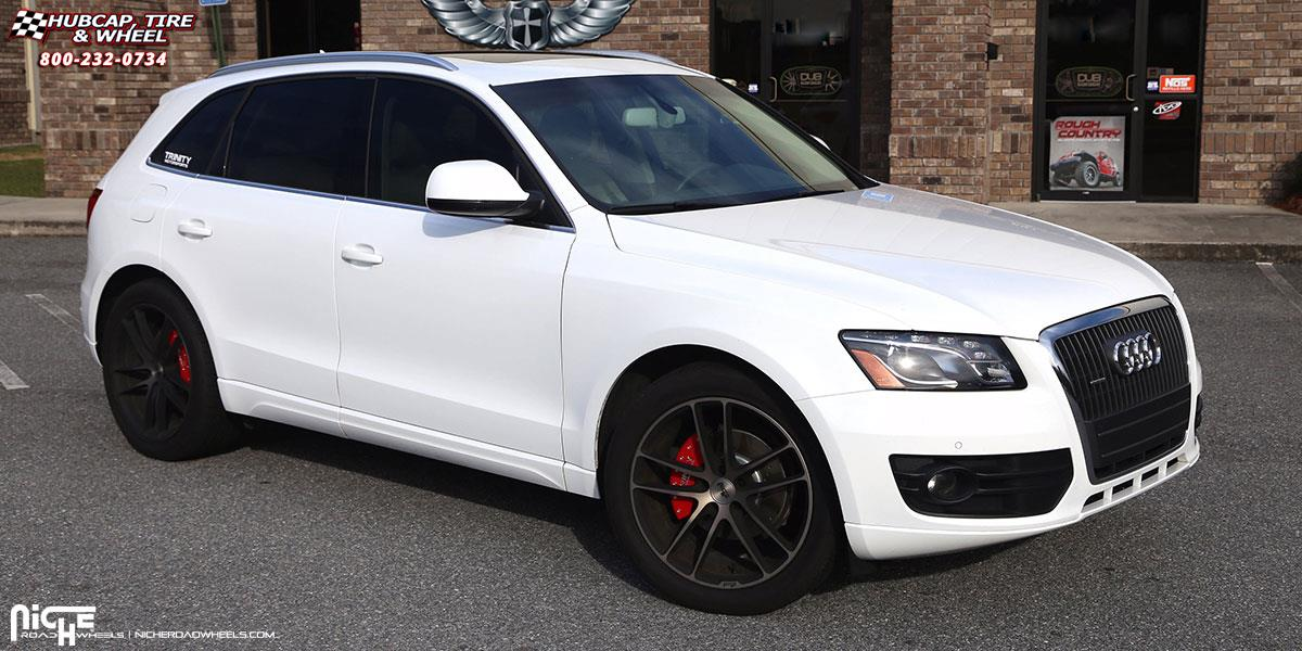 Audi Q5 Niche Enyo - M115 Wheels Black & Brushed with Double Dark Tint