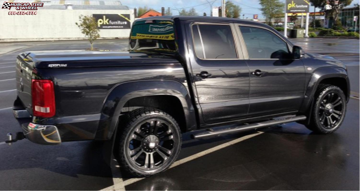 Nissan Titan Xd Series Xd778 Monster Wheels Matte Black