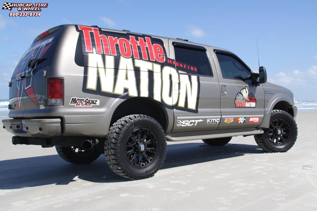 Ford Excursion Xd Series Xd Misfit Matte Black Wheels And Rims