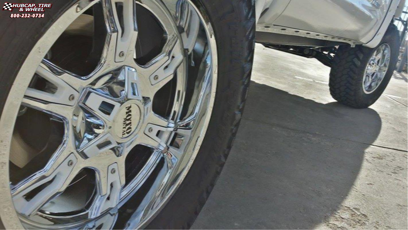 2015 Toyota Tundra Moto Metal Mo969 Wheels Chrome White