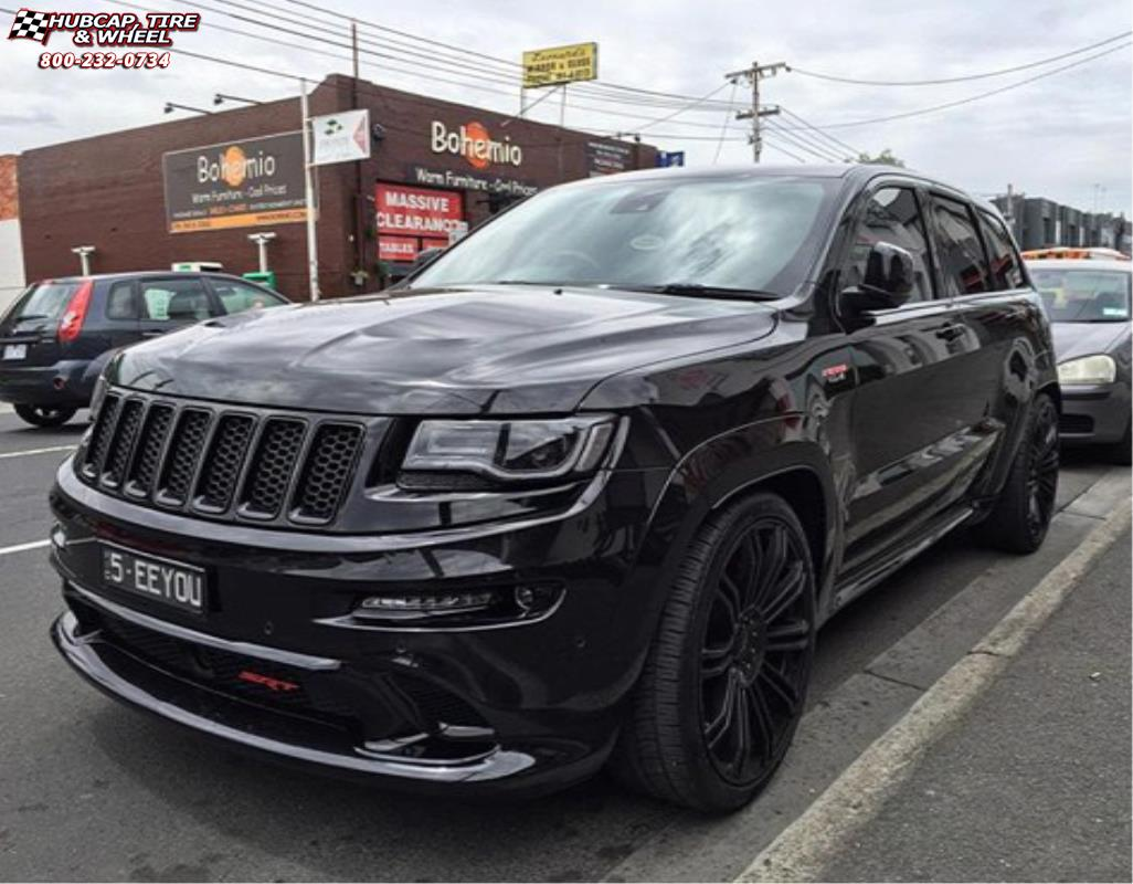 Lovely Jeep Grand Cherokee Xd Series Km677 D2 Gloss Black Wheels And Rims
