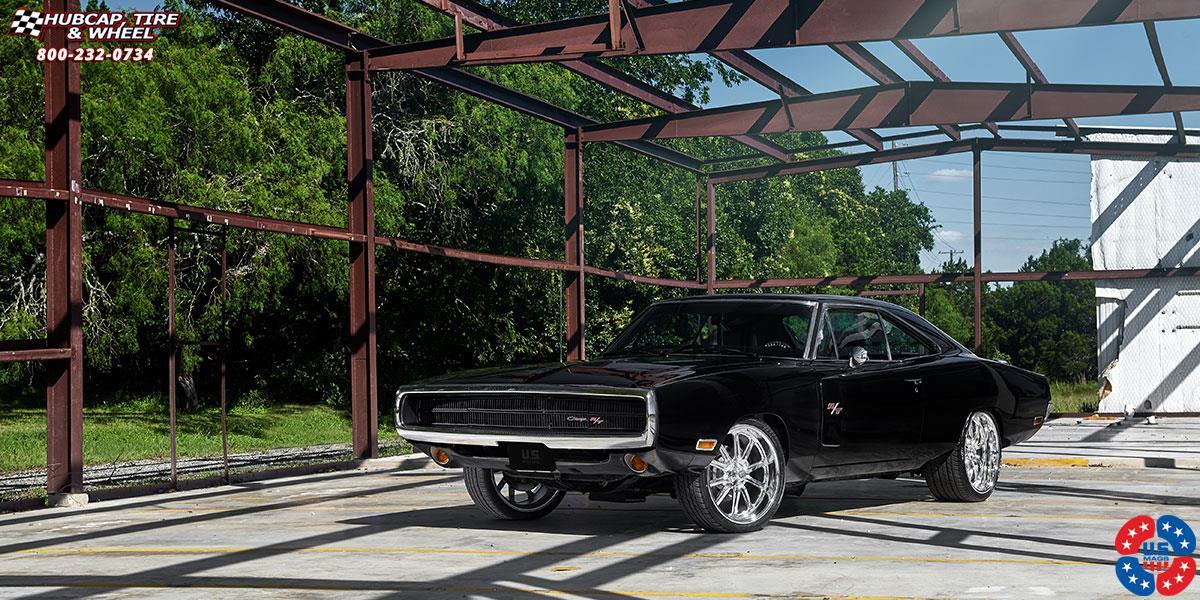 Dodge Charger Us Mags Rambler U110 Wheels Chrome
