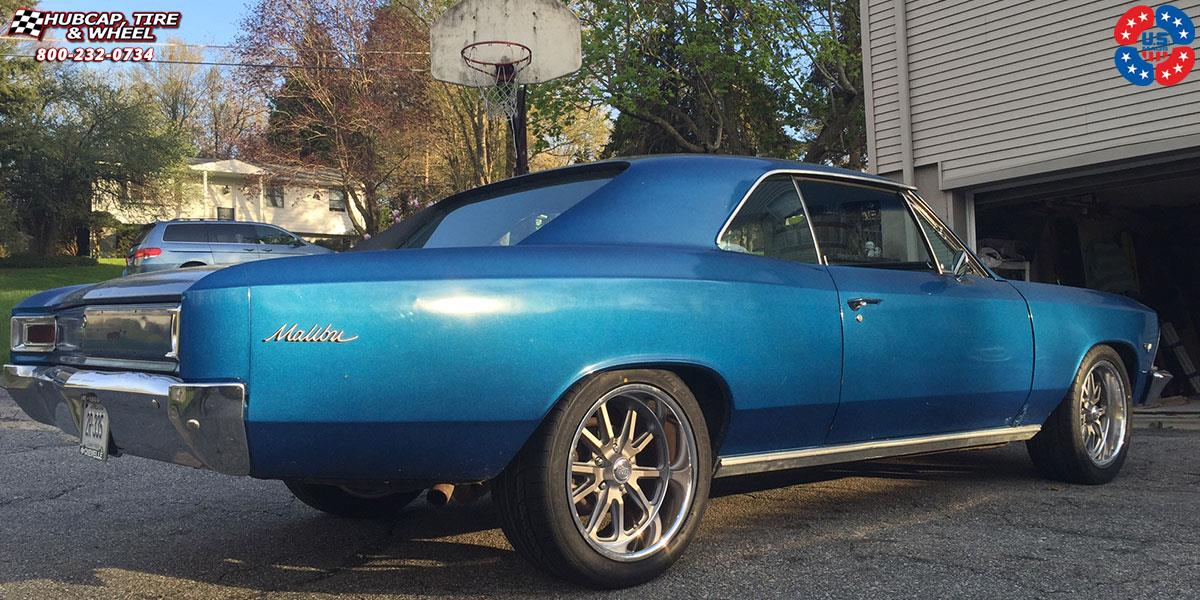 Chevrolet Chevelle US Mags Rambler-U111 Wheels Textured ...