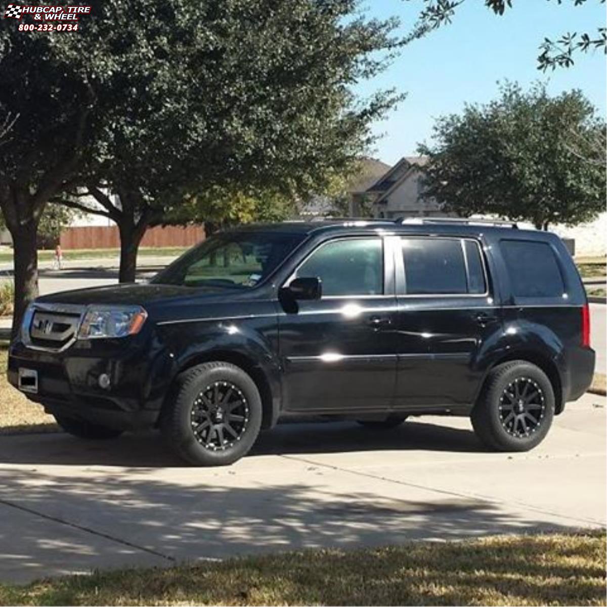 Honda Pilot Xd Series Xd818 Heist Wheels Satin Black