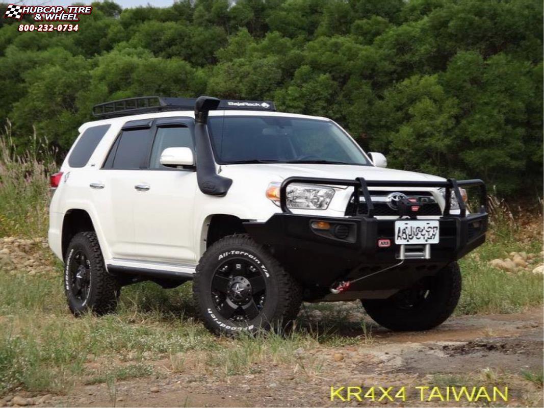 Toyota 4runner Xd Series Xd775 Rockstar Wheels Matte Black