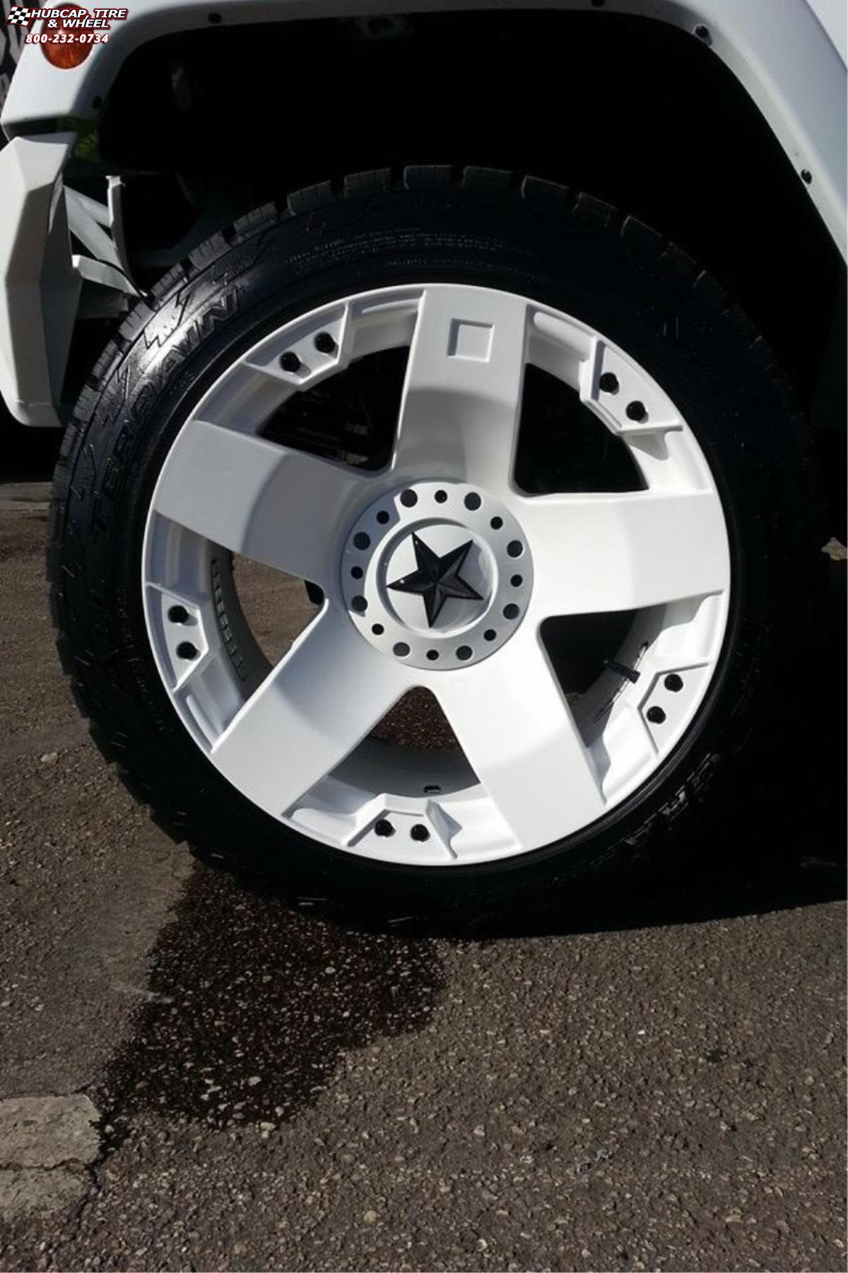 Jeep Wrangler Xd Series Xd775 Rockstar Wheels White
