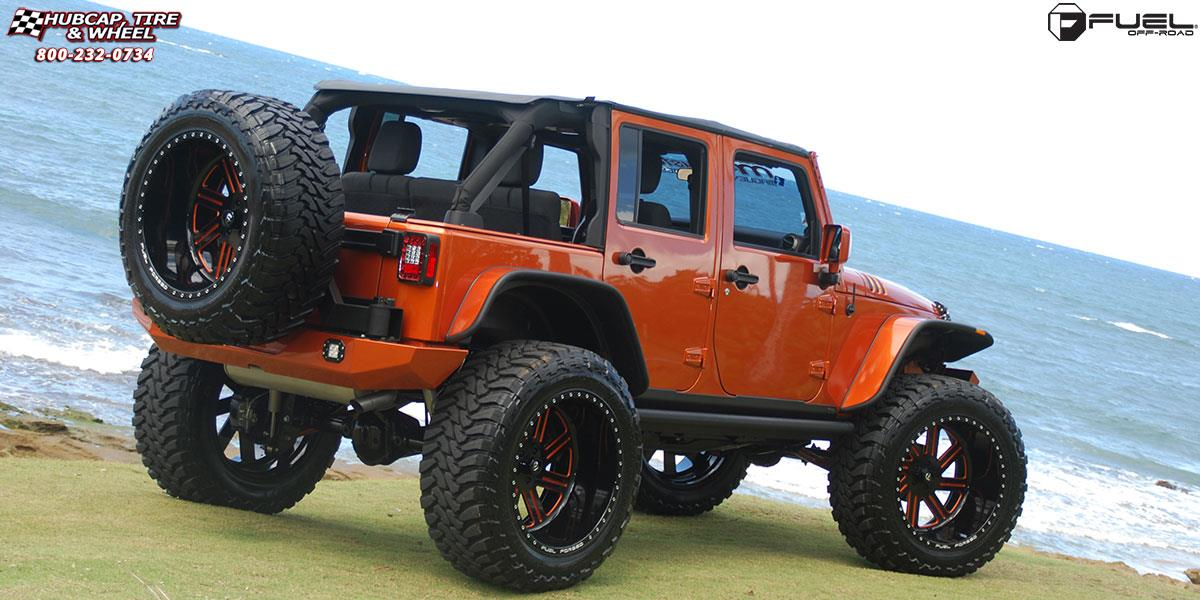 jeep wrangler fuel forged ff07 0X0  Polished or Custom Painted wheels and rims