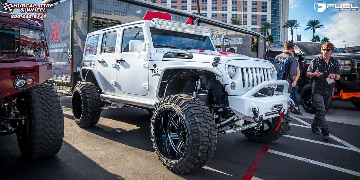 Jeep Wrangler Rims And Tire Packages >> Jeep Wrangler Fuel Forged Ff07 Wheels Polished Or Custom Painted