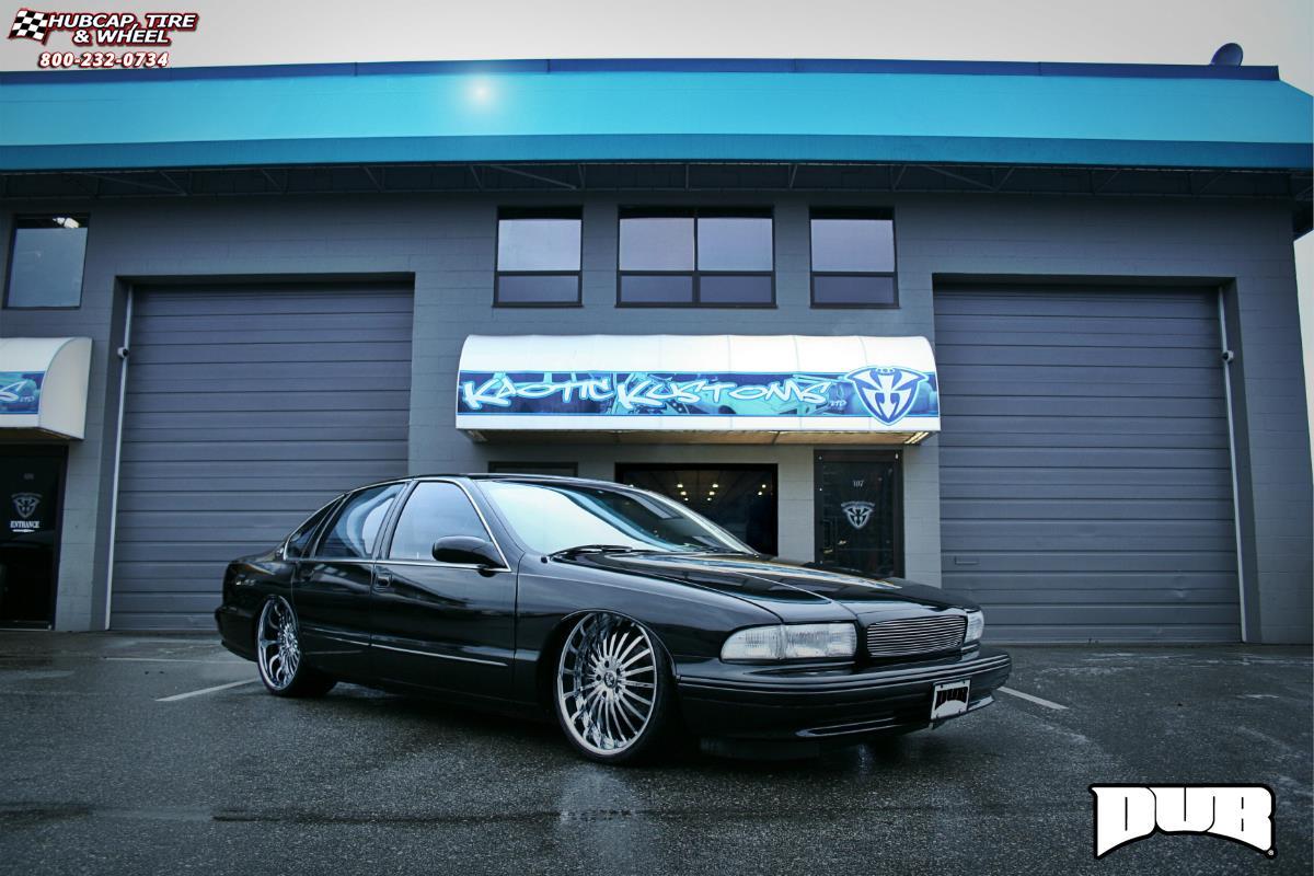 Chevrolet Impala Dub C21-Rhyme Wheels Chrome