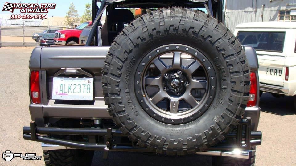 Ford Bronco Fuel Trophy D552 Wheels Matte Anthracite W