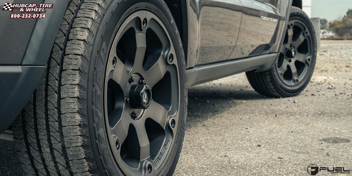Jeep Grand Cherokee Fuel Beast D564 Wheels Black